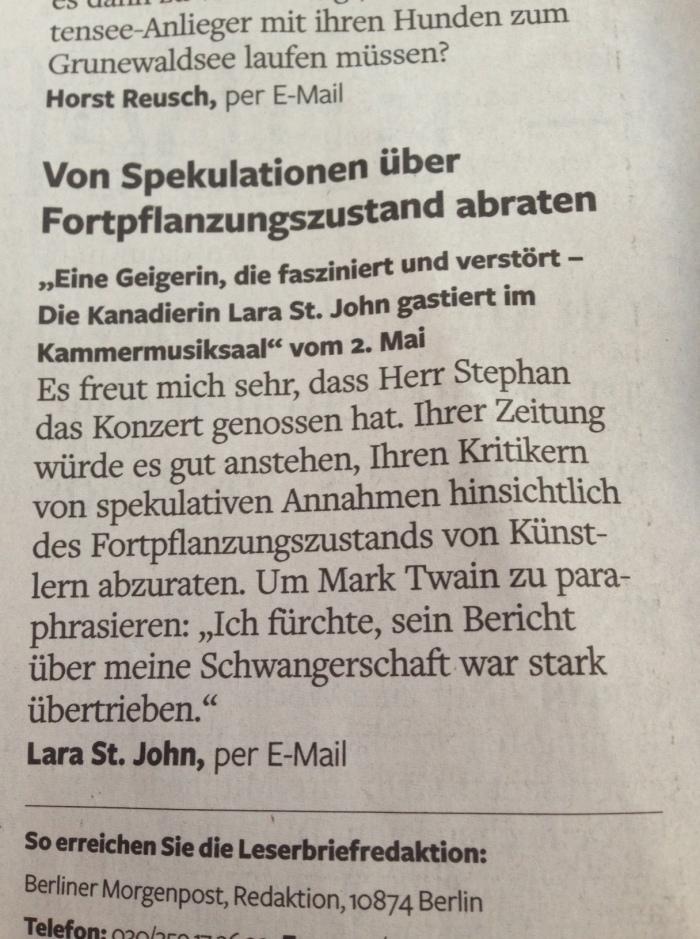 My German publishing debut!
